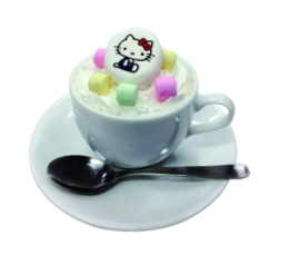 Hello Kitty Marshmallow Coffee