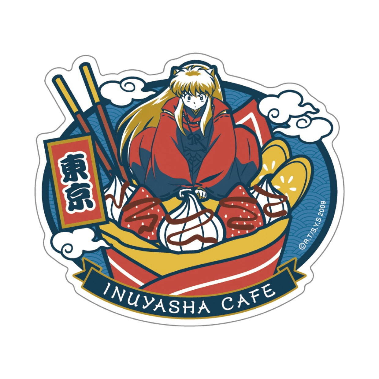 Inuyasha Cafe in Japan 2020