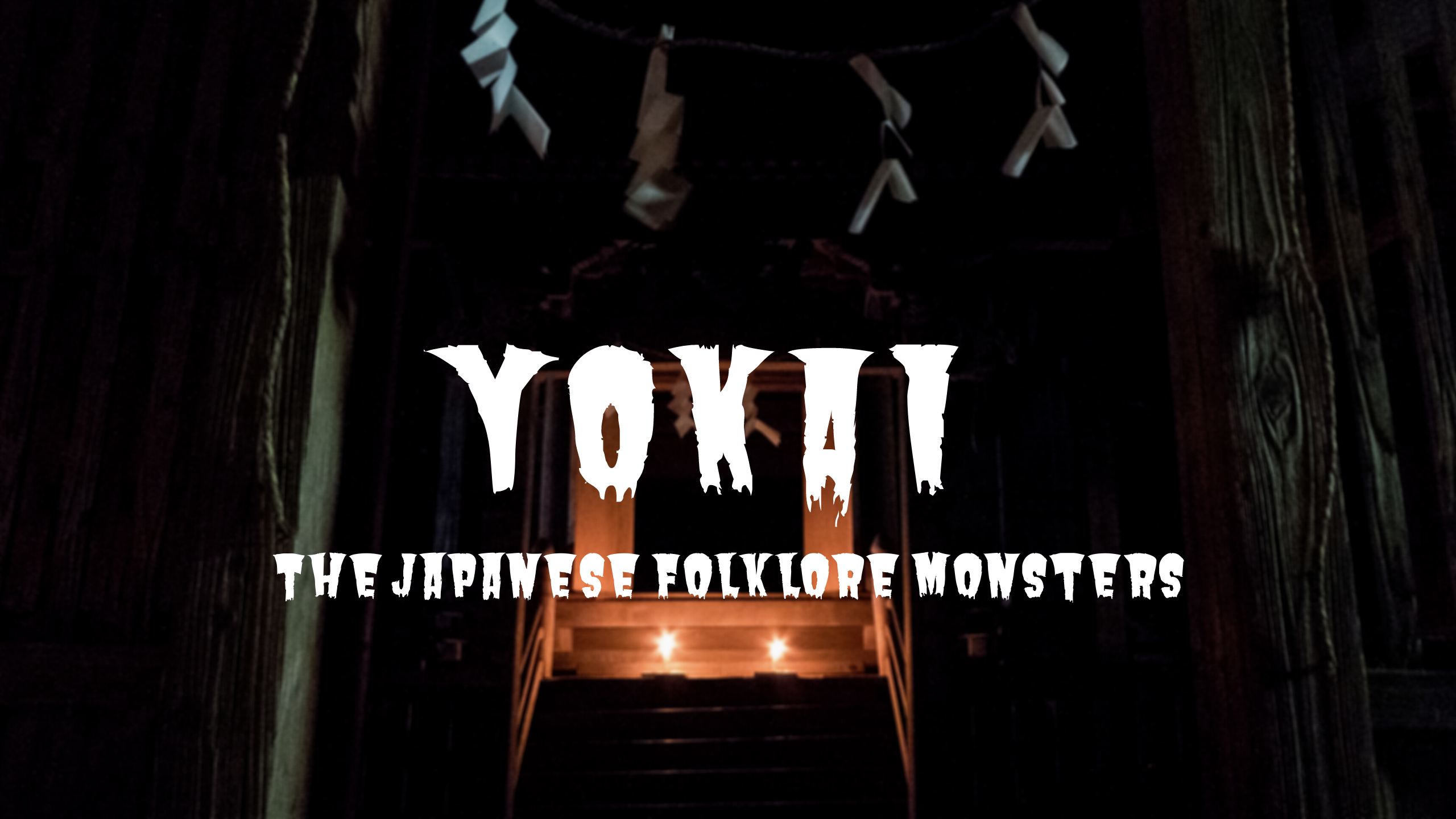 Yokai: The Japanese Folklore Monsters