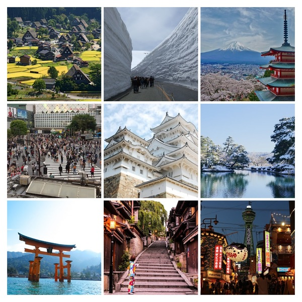 Quick Overview for Travel in Japan