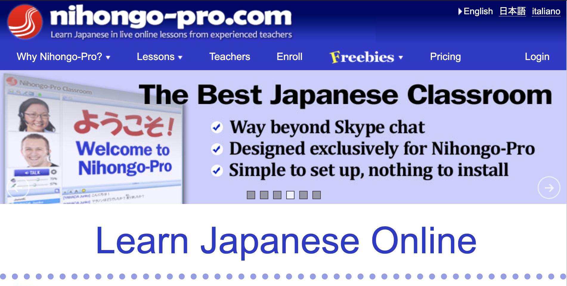 Nihongo-pro