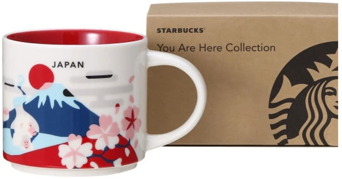"""Starbucks Japan Limited Mug """"You Are Here"""" Collection"""