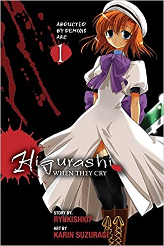 Higurashi When They Cry manga