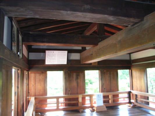 Moon viewing room of Matsumoto Castle