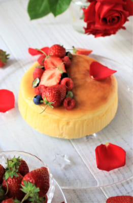 Souffle cheese cake