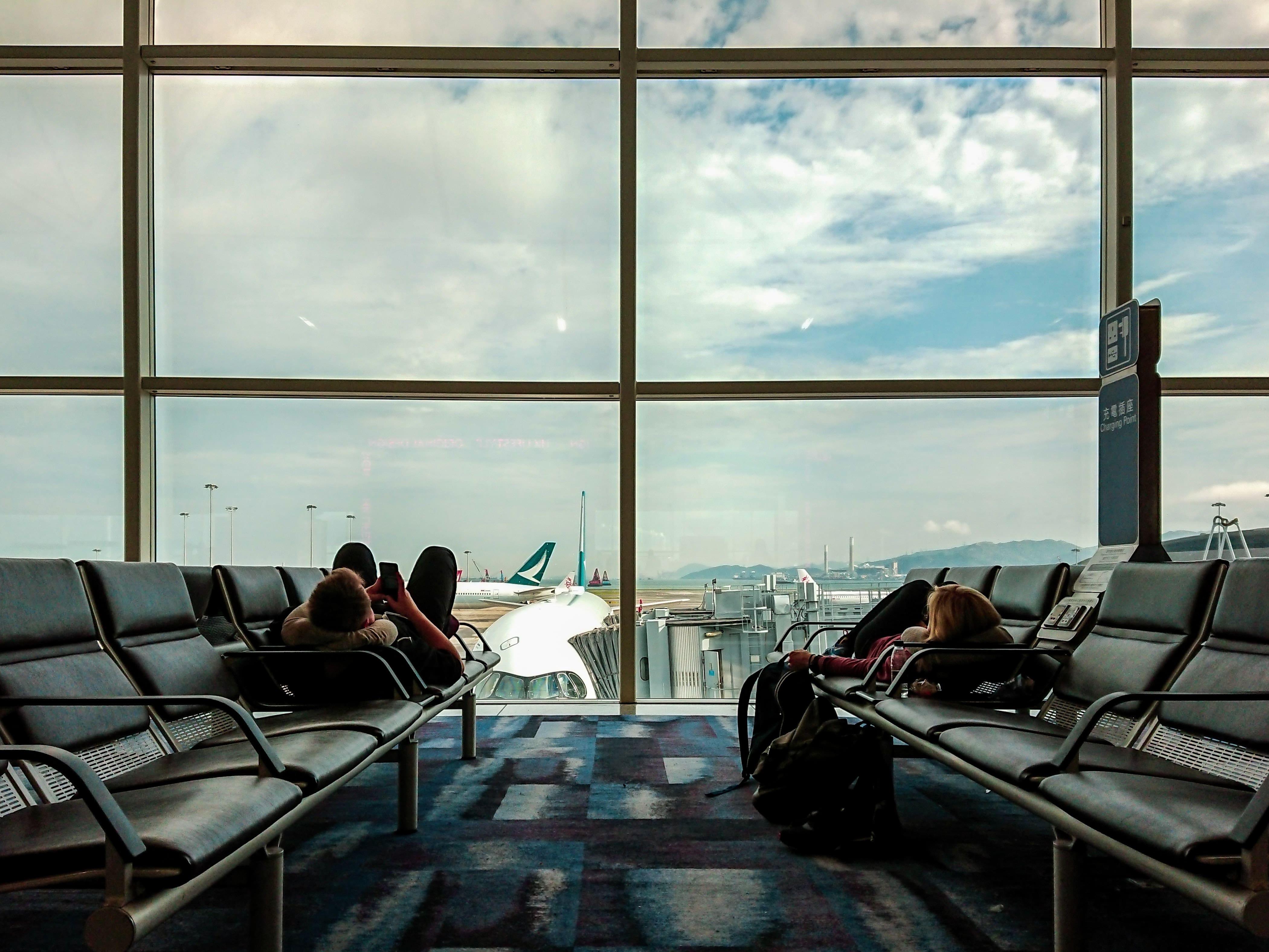 Lobby at Airport
