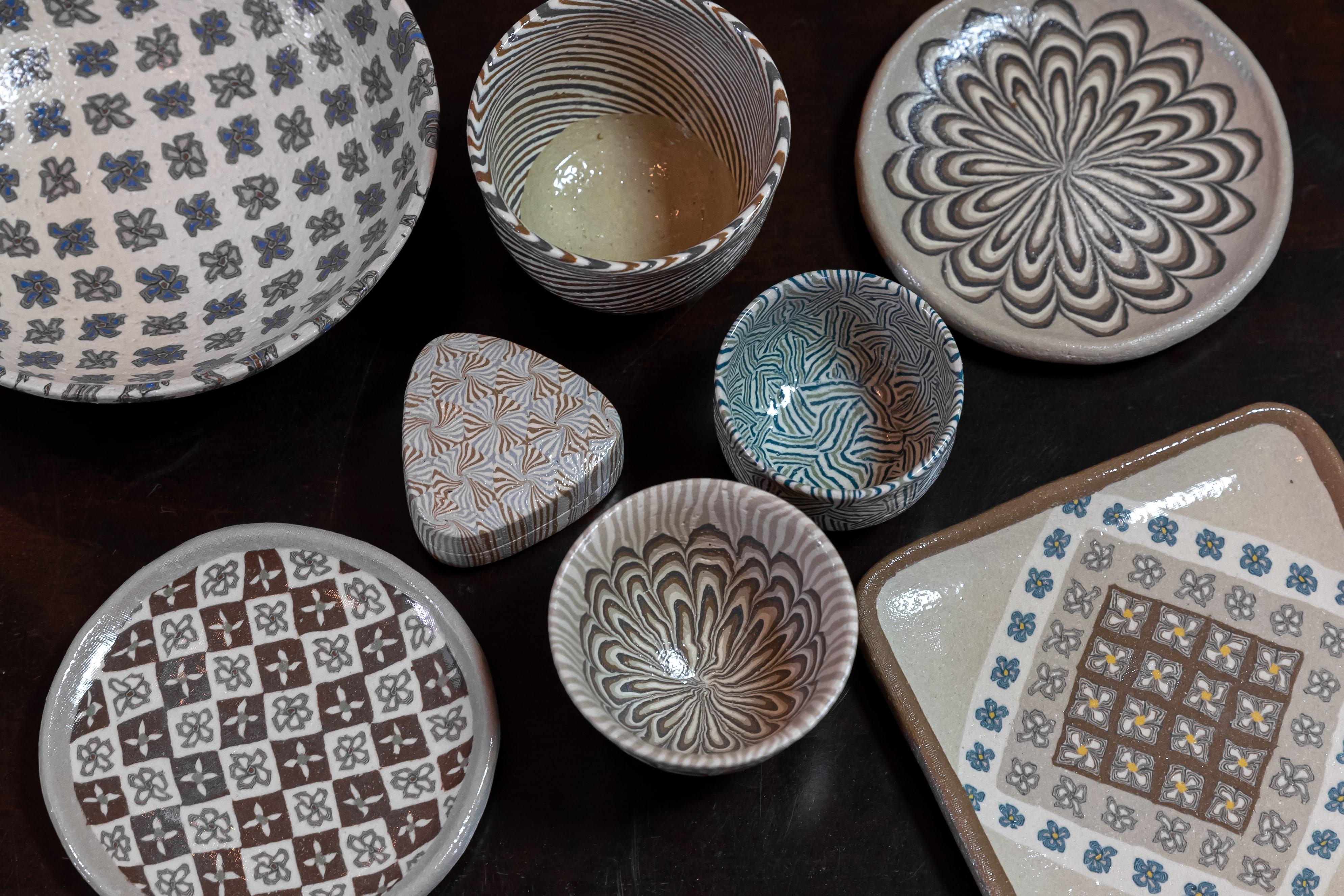 Nerikomi Pottery Lesson