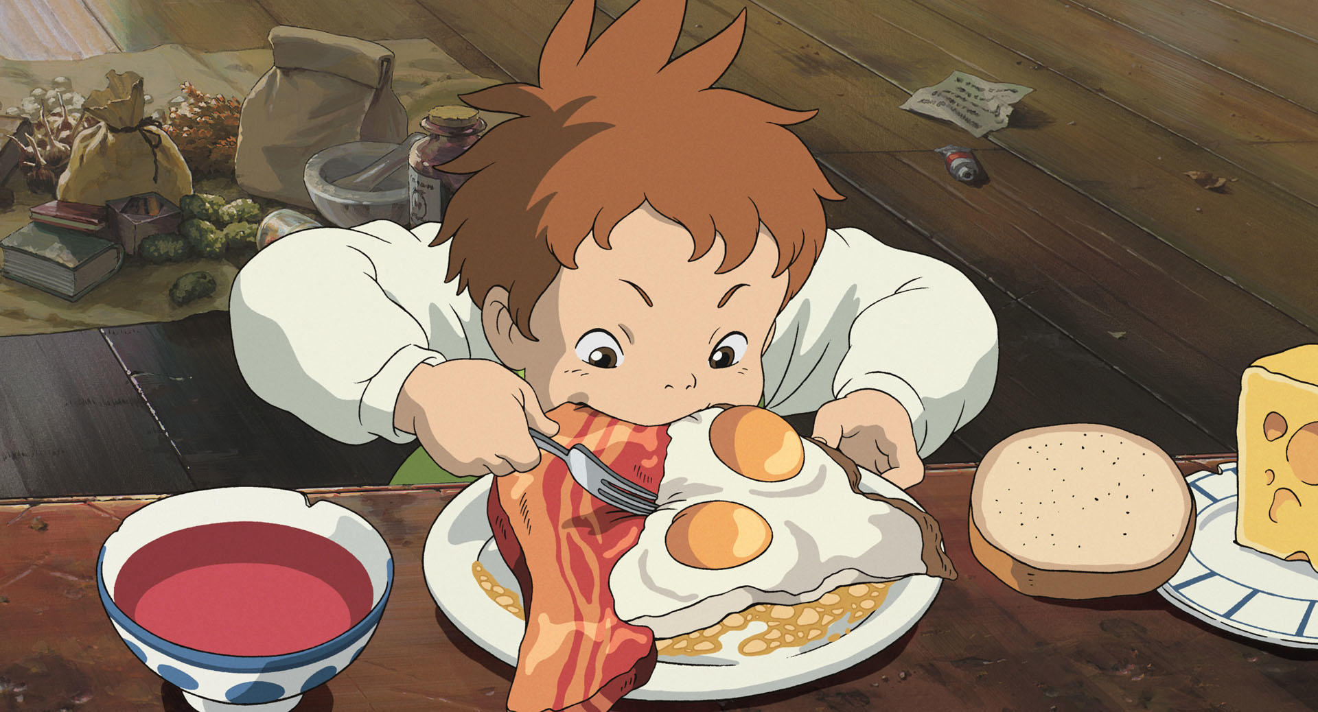 Howl's Moving Castle Food