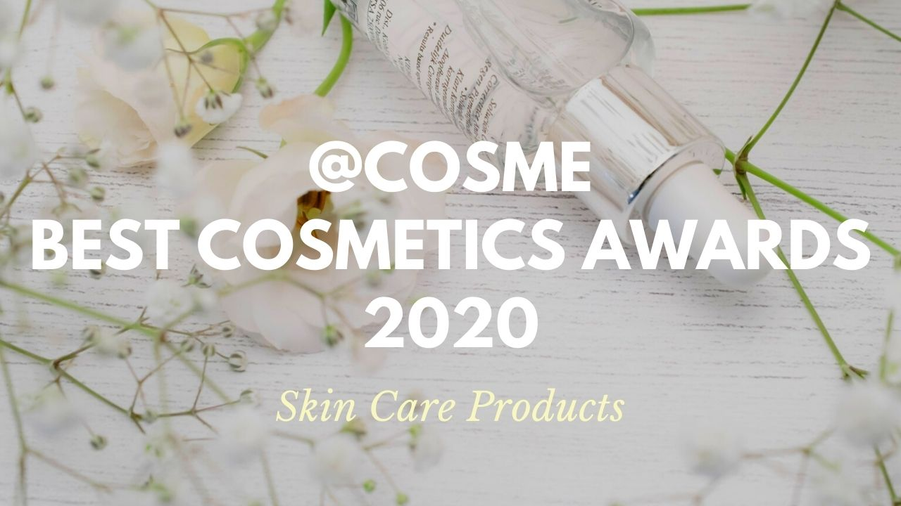 Skin Care Products: Japanese Cosmetics Ranking 2020
