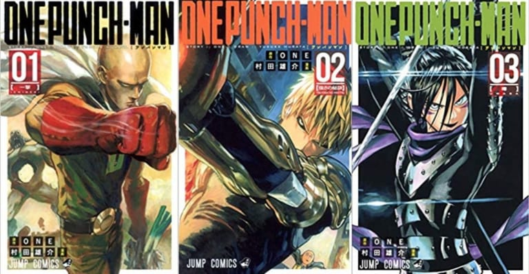 Manga of One-Punch Man