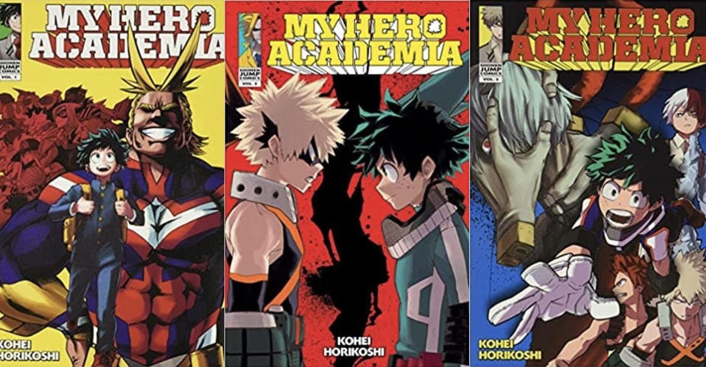 My Hero Academia Vol.1-3