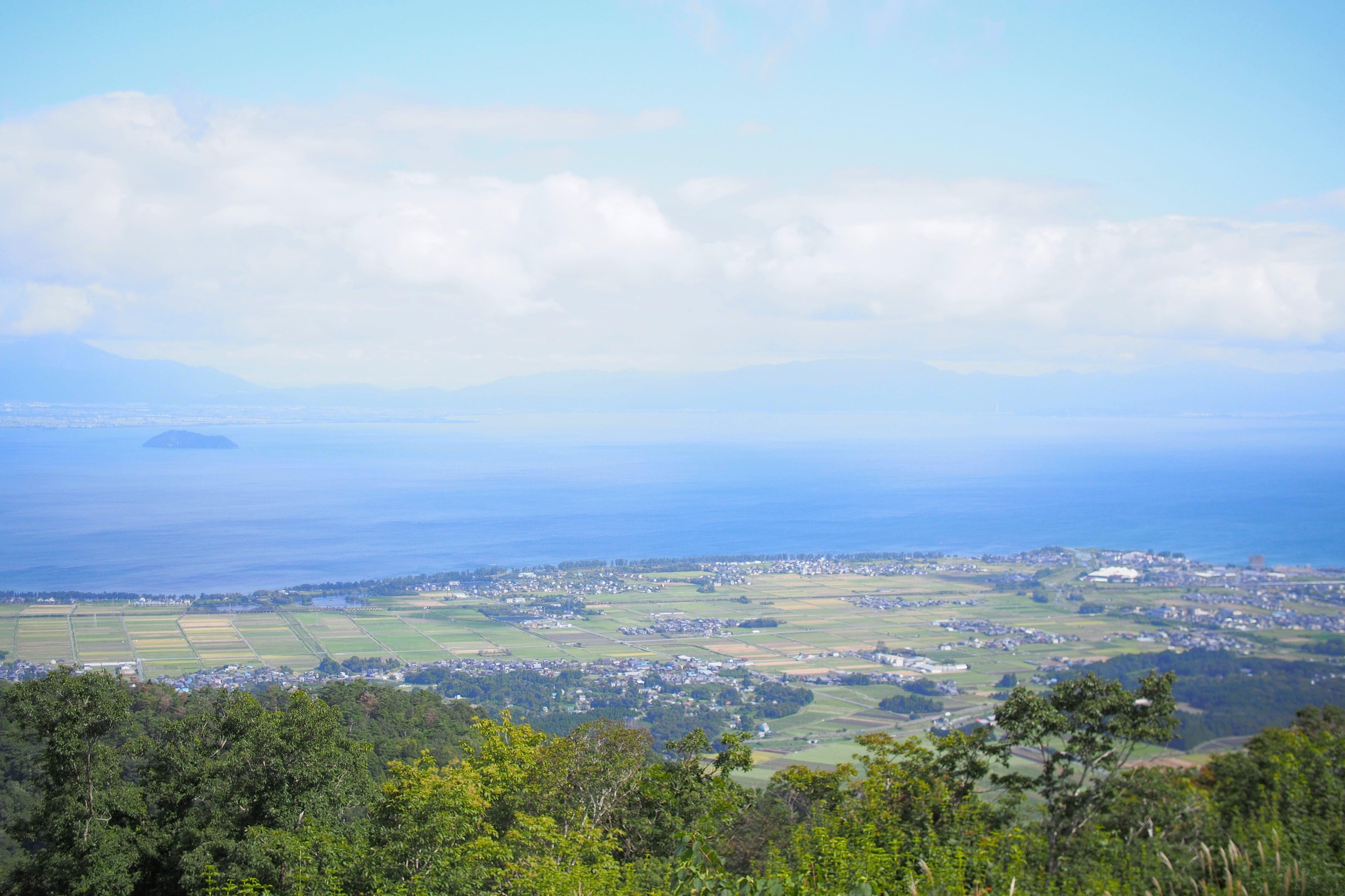 Lake Biwa view