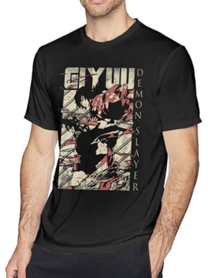 Demon Slayer: Kimetsu no Yaiba T-shirt Giyuu Tomioka
