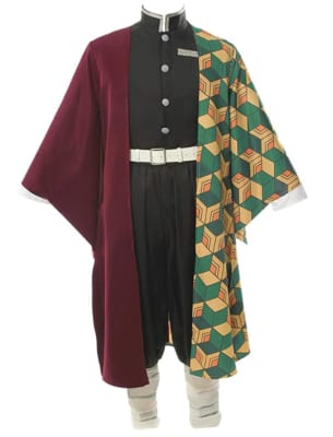 Demon Slayer: Kimetsu no Yaiba Giyuu Cosplay Costume