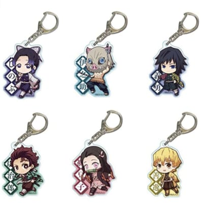 Demon Slayer Kimetsu no Yaiba keychains Decor Pendant Hanging Ornament