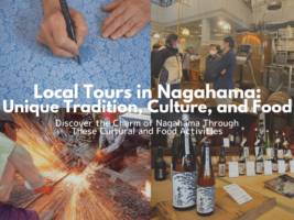 Local Tours in Nagahama: Unique Tradition, Culture, and Food
