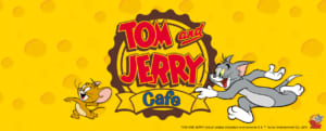 TOM and JERRY Cafe in Japan