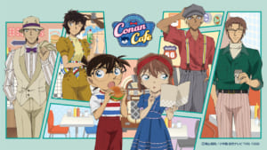 Detective Conan Cafe in Japan 2021