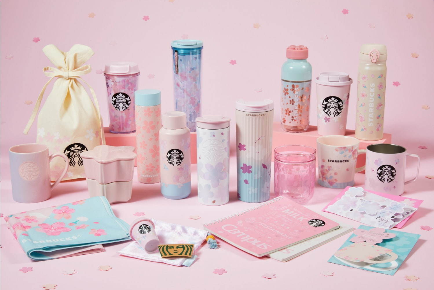 Starbucks Japan Sakura Tumblers and Mugs 2021