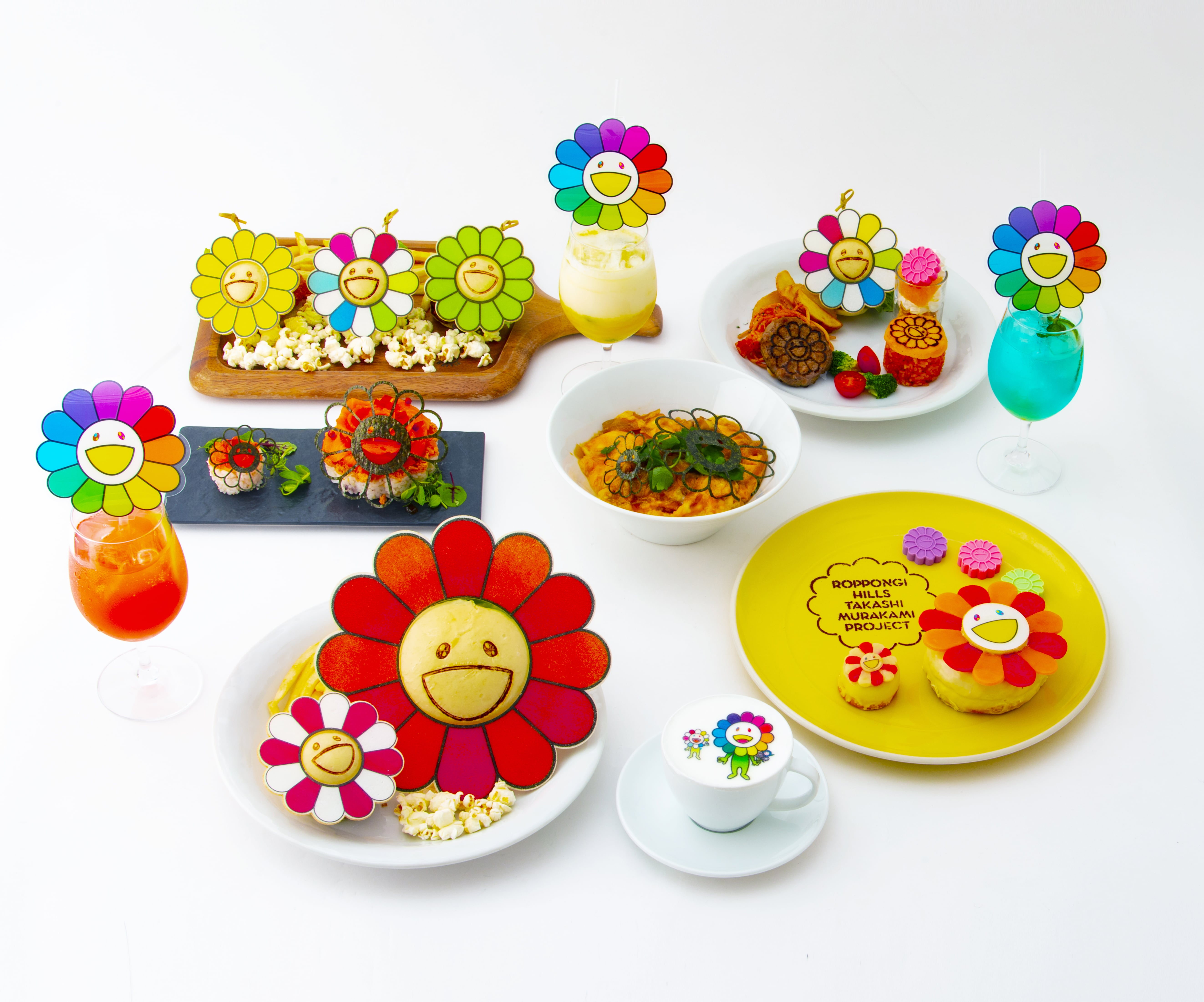 Takashi Murakami Flower Parent and Child Cafe 2021