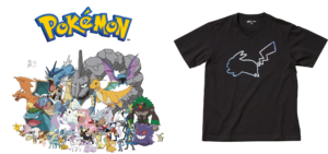 UNIQLO UT Collaboration with Pokemon, One Piece, Animal Crossing andmore