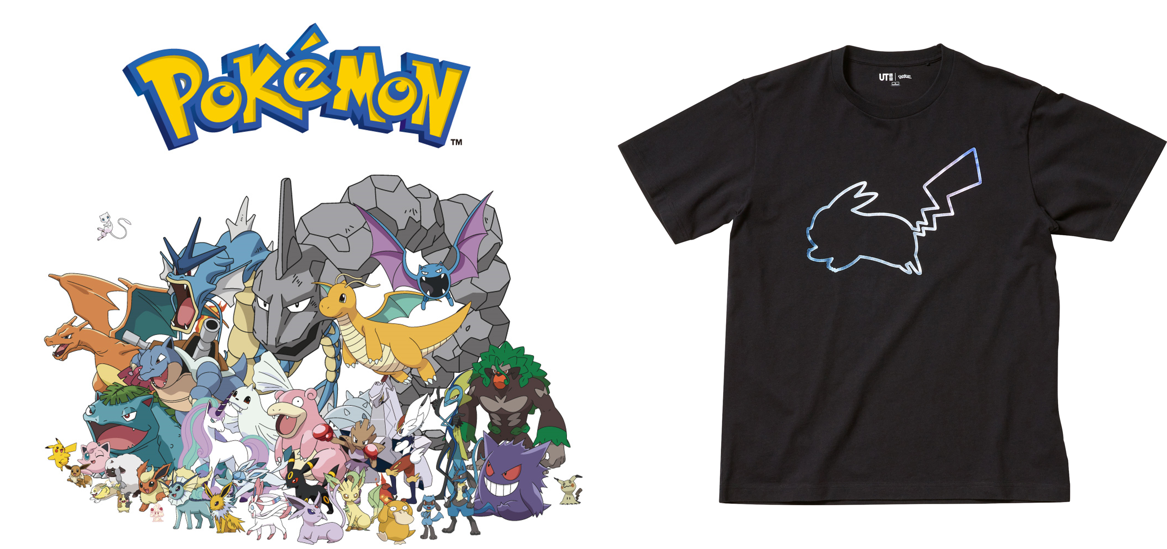 UNIQLO UT Collaboration with Pokemon, One Piece, Animal Crossing and more