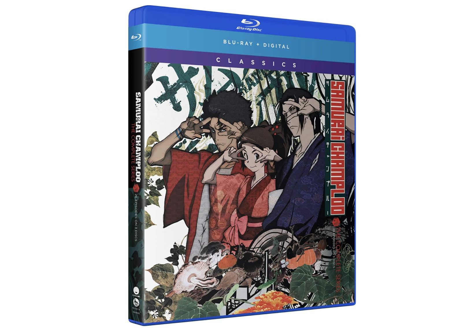 Samurai Champloo Blu-ray