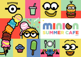 MINION SUMMER CAFE in Japan