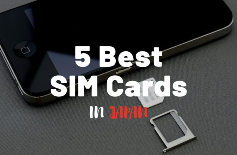 Best SIM Cards in Japan