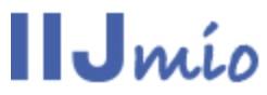 Iij Mio Logo