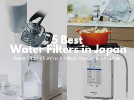 5 Best Water filters in Japan