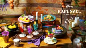 Tangled Rapunzel Cafe in Japan
