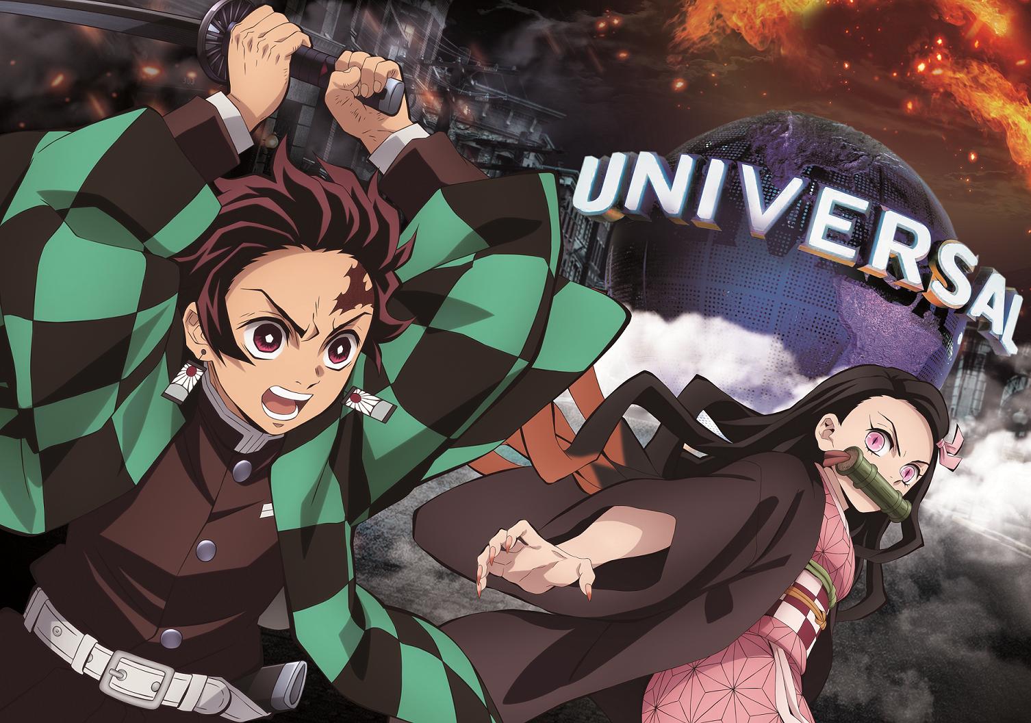 Demon Slayer: Kimetsu no Yaiba Attraction to Open at Universal StudiosJapan