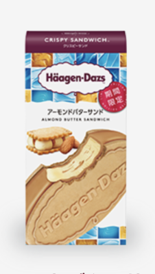 Häagen-Dazs Almond Butter Sandwich